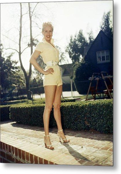 Betty Grable Metal Print
