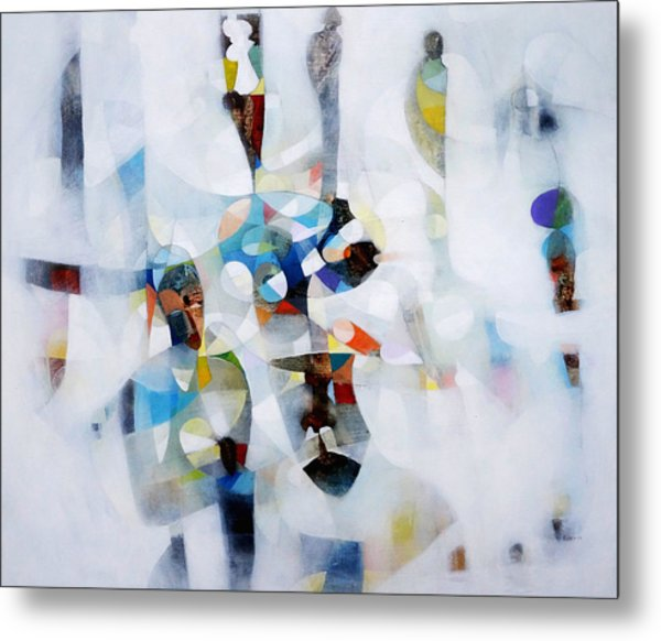 Composition Metal Print