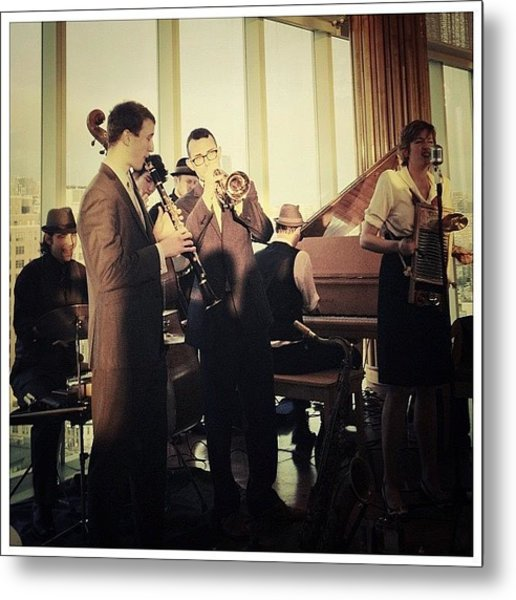 The Hot Sardines Metal Print