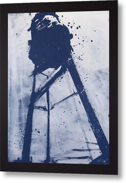 Water Tower 06 Metal Print