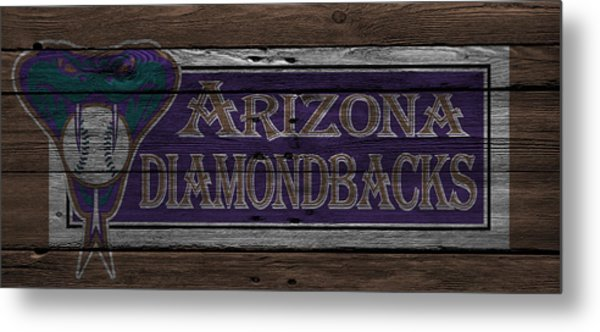 Arizona Diamondbacks Metal Print