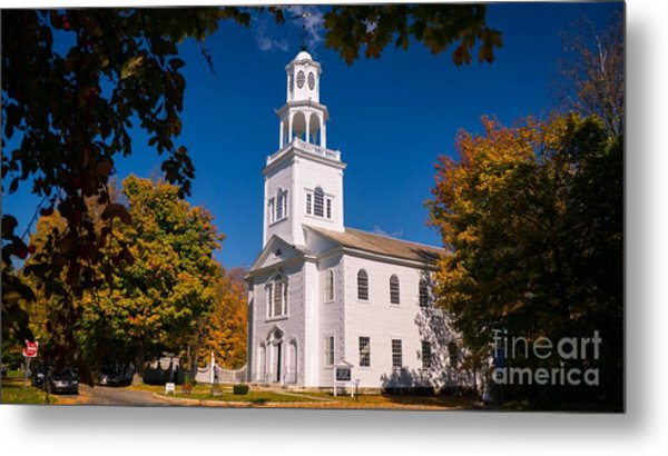 Classic Vermont Foliage. Metal Print
