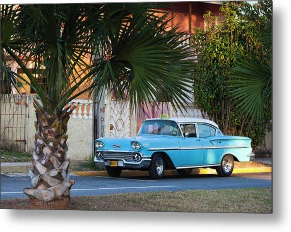 Cuba, Matanzas Province, Varadero Metal Print