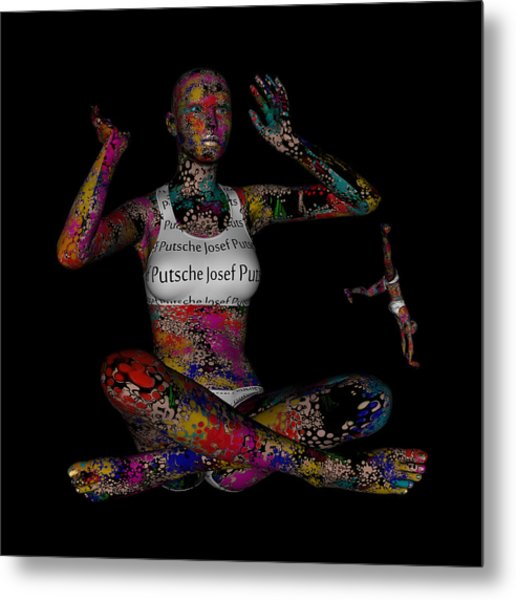 The Future Of Psychedelic Society Metal Print