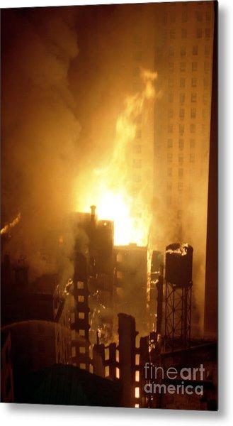 18 Alarm Hotel St George Fire Metal Print