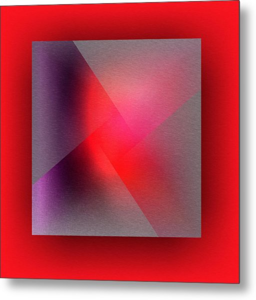 Metal Print featuring the digital art Color Recycling by Mihaela Stancu