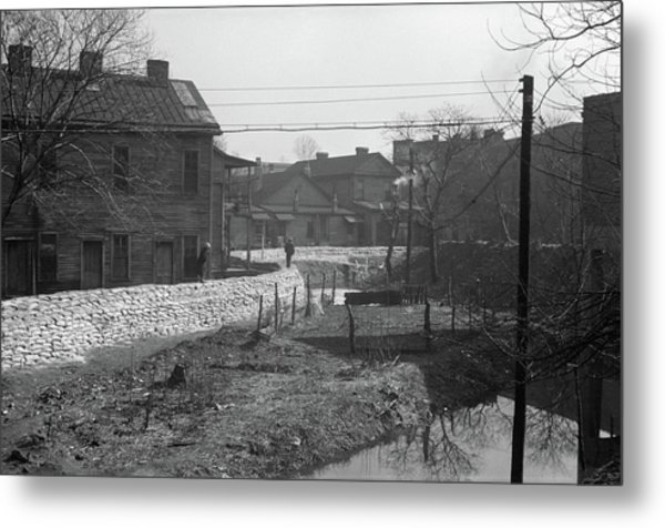 Tennessee Flood, 1937 Metal Print by Granger
