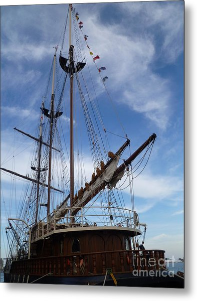 1812 Tall Ships Peacemaker Metal Print