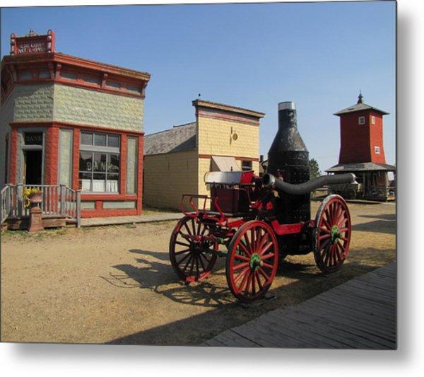 1880 Ghost Town South Dakota 4635 Metal Print