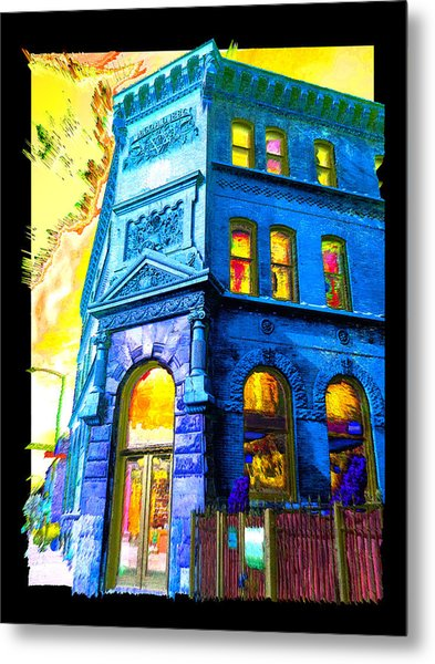 18th And Canal Metal Print