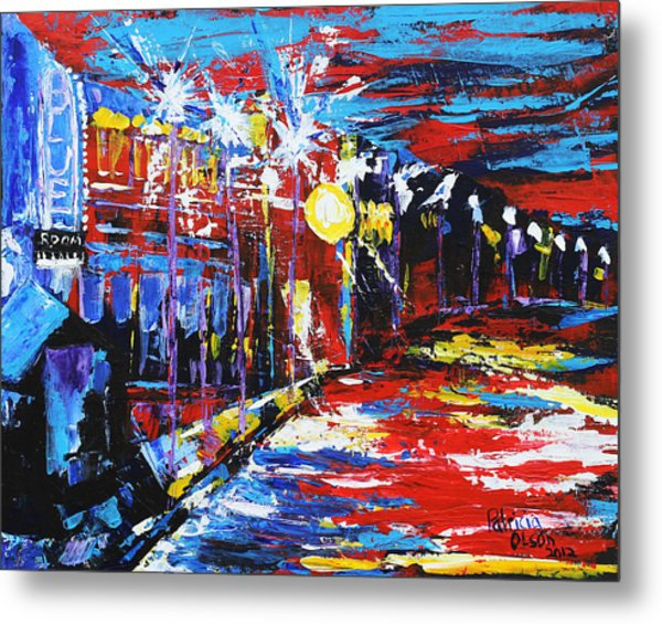 18th And Vine Metal Print