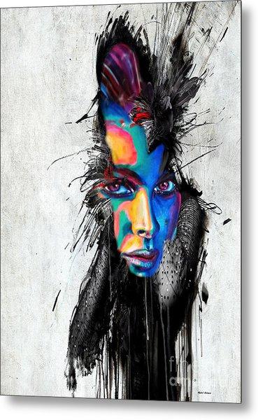 Facial Expressions Metal Print