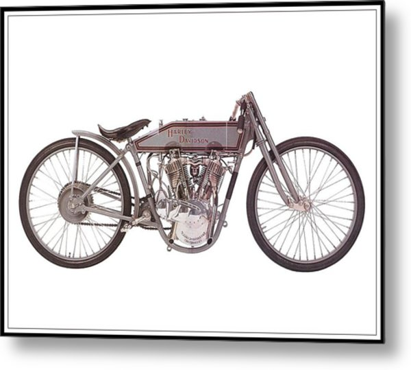 1915 Harley-davidson 11-k Metal Print
