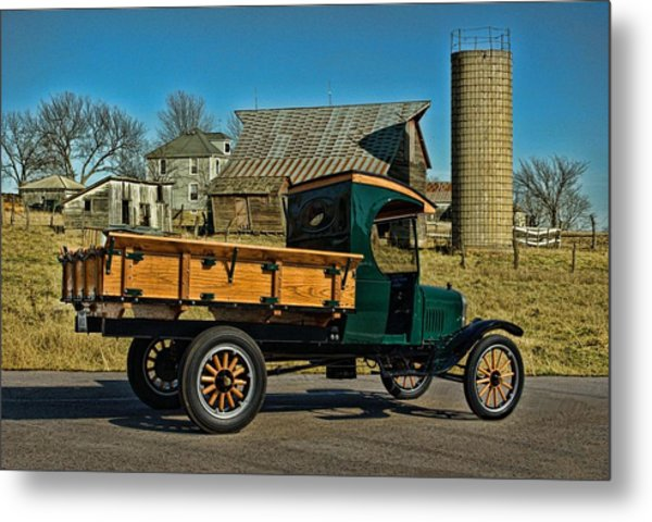 1923 Ford Model Tt One Ton Truck Metal Print