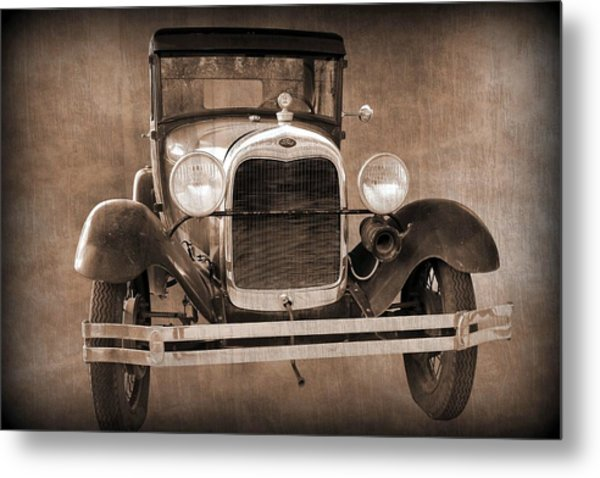1928 Ford Model A Coupe Metal Print