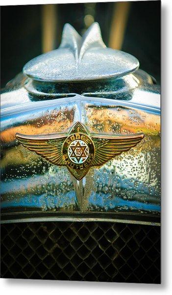 1929 Dodge Sedan Hood Emblem 2 Metal Print