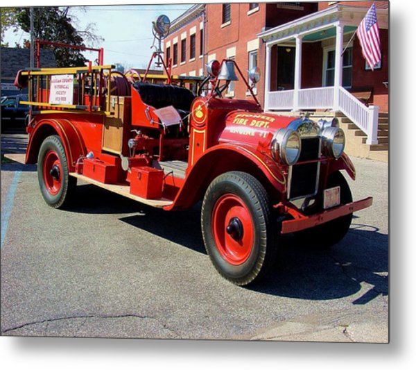 1929 Reo Speedwagon Fire Truck Photograph By Tom Eckels