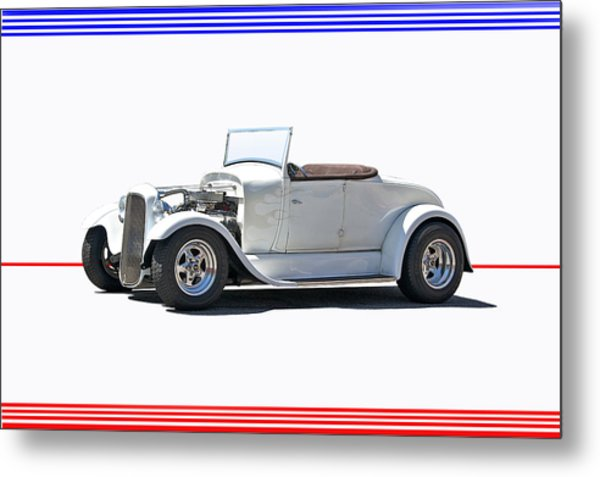 1930 Ford Model A Roadster I Metal Print by Dave Koontz
