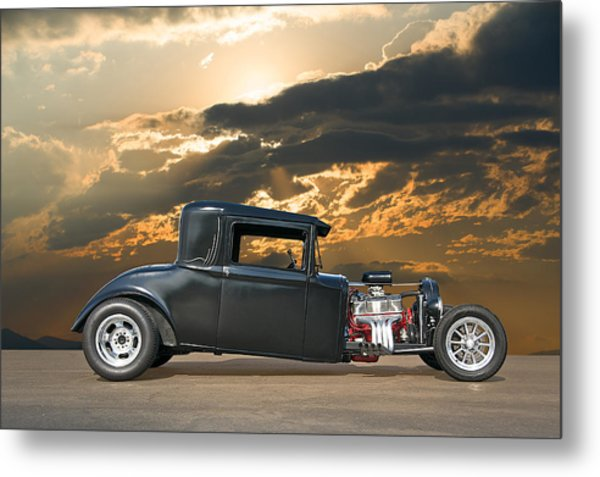 1930 Hudson Hot Rod Coupe II Metal Print by Dave Koontz