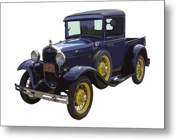 1930 - Model A Ford - Pickup Truck Metal Print