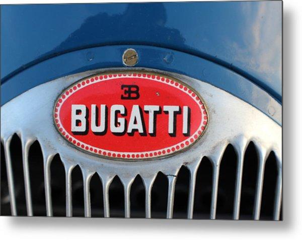 1930's Ettore Bugatti Metal Print