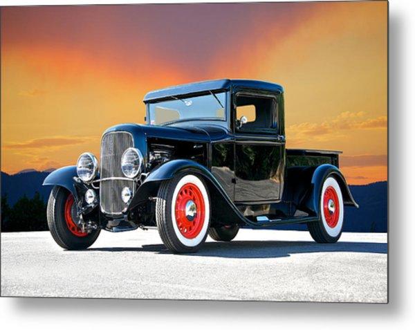 1932 Ford Pick Up II Metal Print by Dave Koontz