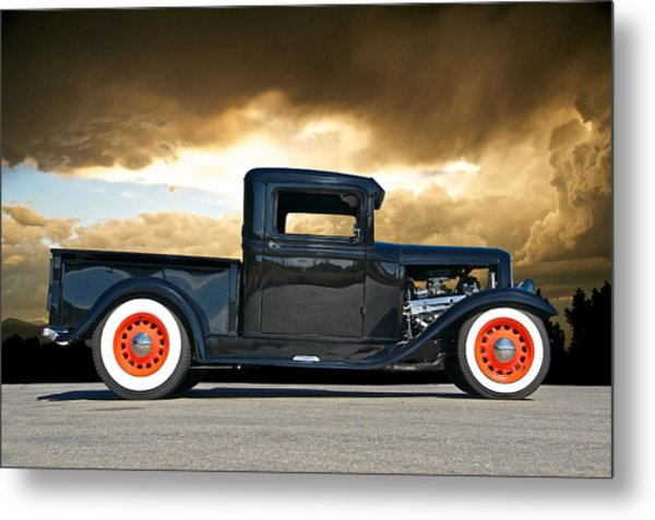 1932 Ford Pick Up Iv Metal Print by Dave Koontz