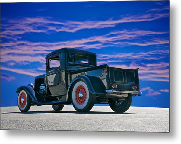 1932 Ford Pick Up V Metal Print by Dave Koontz