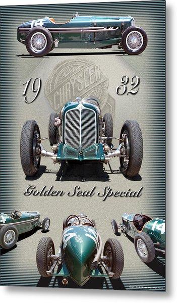 1932 Golden Seal Spl. Metal Print