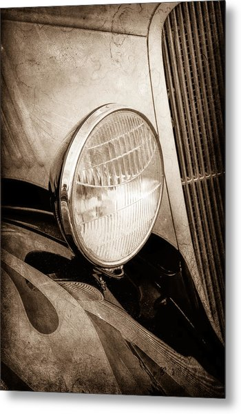 1933 Ford Coupe Hot Rod Metal Print