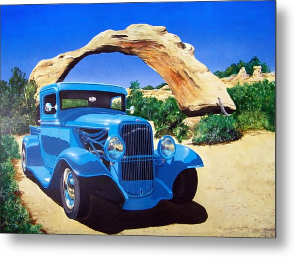 1933 Ford Pickup Metal Print