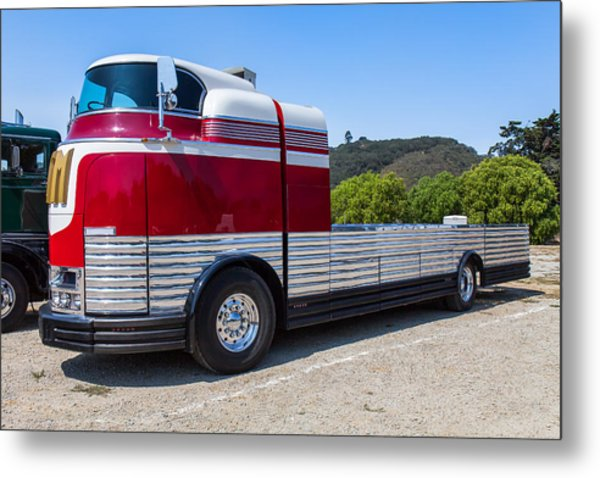 1933 Gm Futureliner Metal Print
