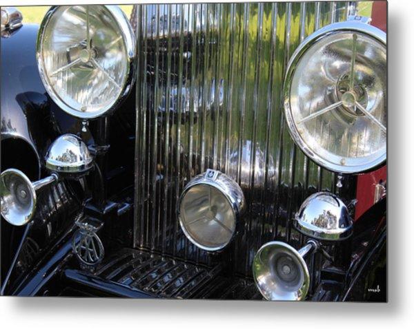 1933 Rolls Royce Phantom II Front Assembly Metal Print by Mark Steven Burhart