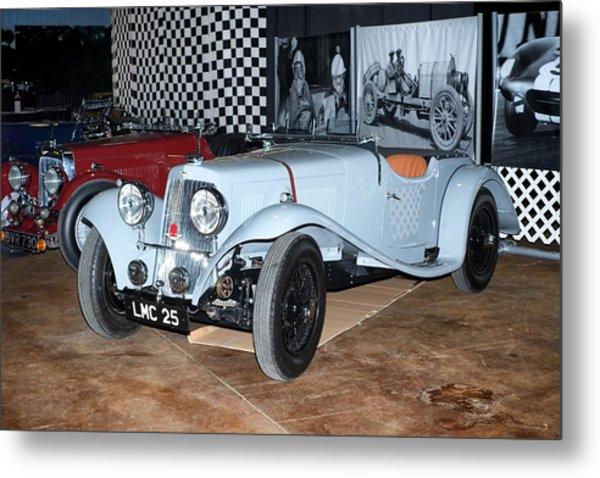 1934 Aston Martin 1.5 Liter Mk. II Metal Print