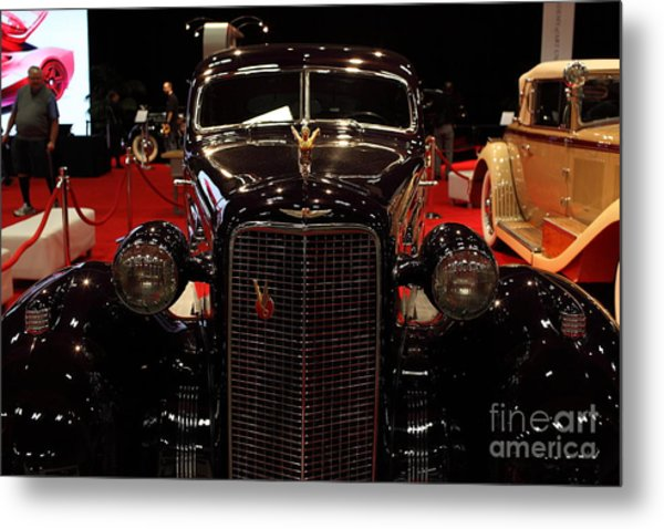 1934 Cadillac V16 Aero Coupe - 5d19875 Metal Print by Wingsdomain Art and Photography