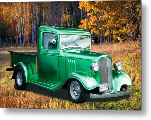 1934 Chev Pickup Metal Print