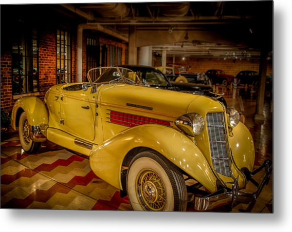 1935 Auburn 851 Speedster Supercharged Metal Print by Gene Sherrill