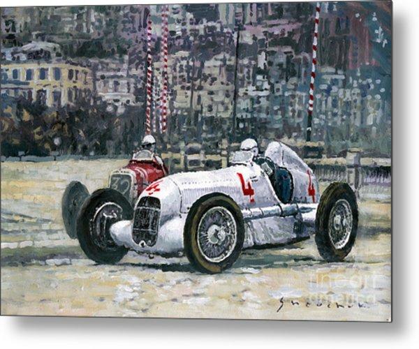 1935 Monaco Gp Mercedes-benz W25 #4 L. Fagioli Winner  Metal Print