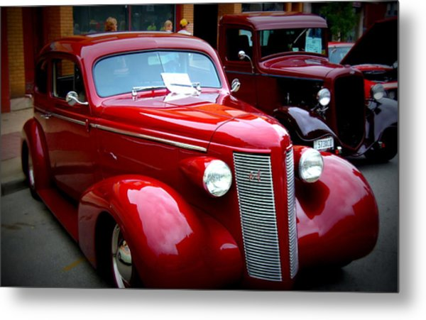 1937 Buick 8 Metal Print by Willy  Nelson