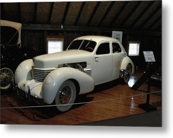 1937 Cord 812 Westchester Metal Print
