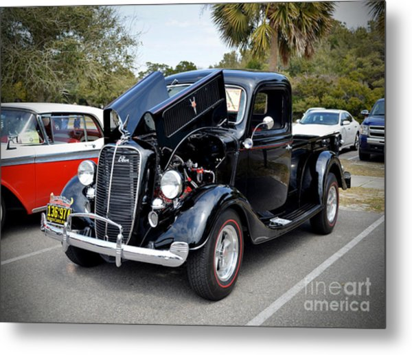 1937 Ford Pick Up Metal Print