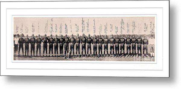 1937 Washington Redskins Team Photo Metal Print by Unknown