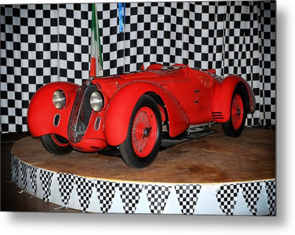 1938 Alfa Romeo 2900b Mm Metal Print