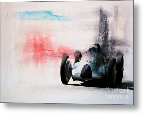 1938 Auto Union Type D Metal Print