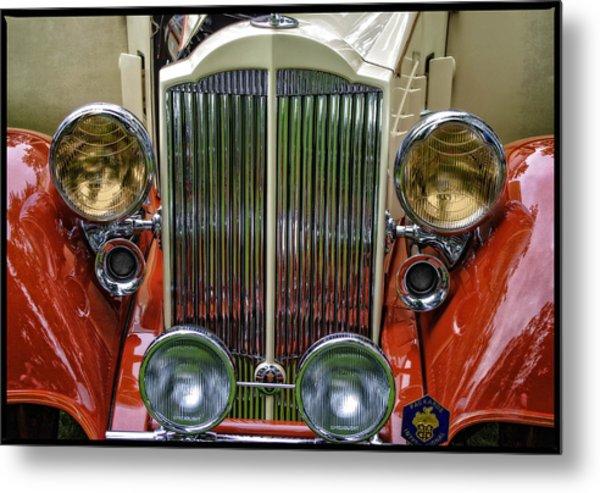 1928 Classic Packard 443 Roadster Metal Print