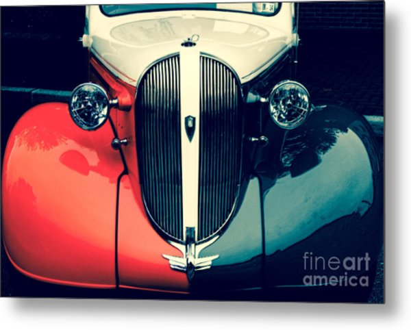 1938 Plymouth Deluxe  Metal Print by Steven Digman