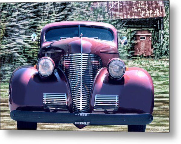 1939 Chevy Immenent Front Original Metal Print