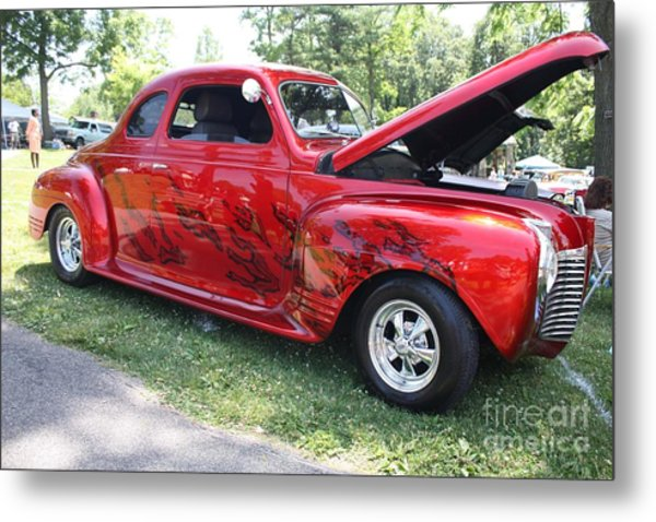 1941 Plymouth Coupe Metal Print
