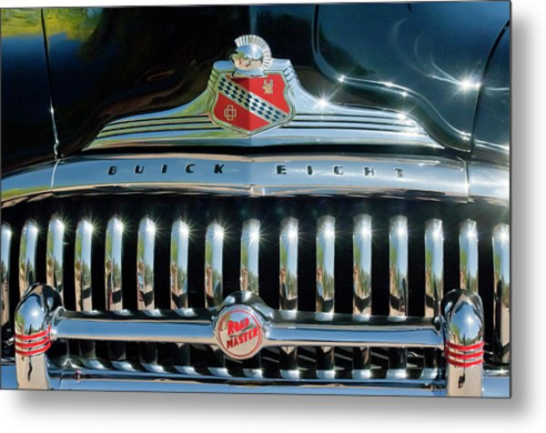 1947 Buick Sedanette Grille Metal Print