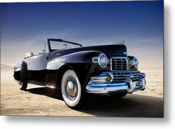 1947 Lincoln Continental Metal Print